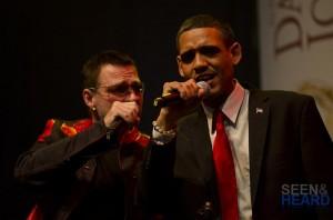 Bono and Barack