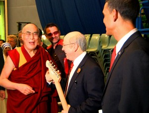 Dalai Lama and Gorbachev share joke