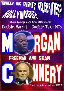 Morgan Freeman with Sean Connery